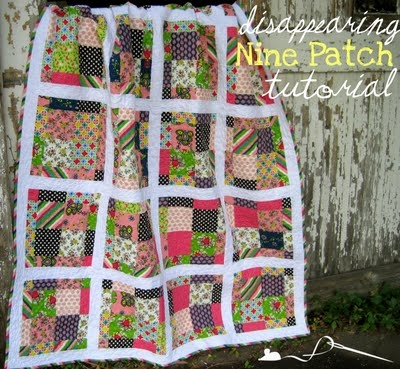 scrappy disappearing 9 patch tutorial Cool Disappearing Nine Patch Quilt Patterns Gallery