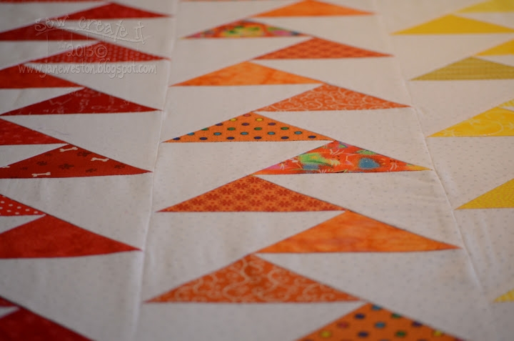 sew create it rainbow migrating geese tutorial Cool Migrating Geese Quilt Pattern