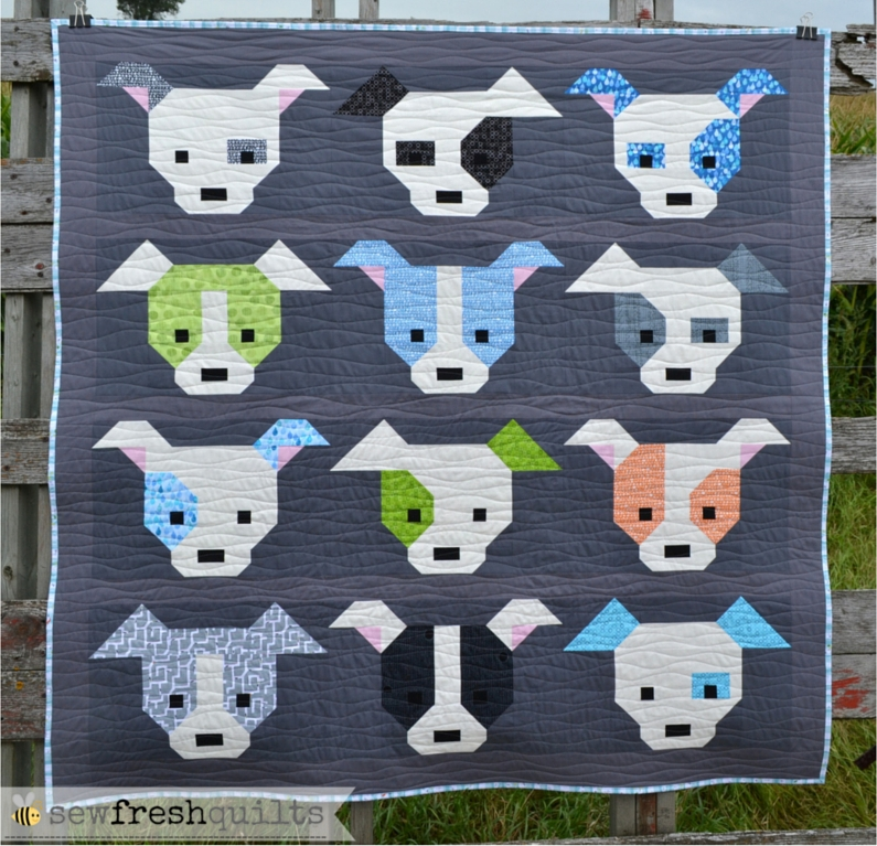 sew fresh quilts dog gone cute maxi quilt finish Cool Sew Fresh Quilts Dog Gone Cute Gallery