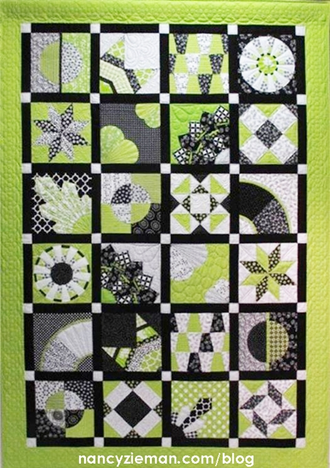 shes our star 2018 block of the month team nancy zieman Cool Quilt Of The Month Patterns Inspirations