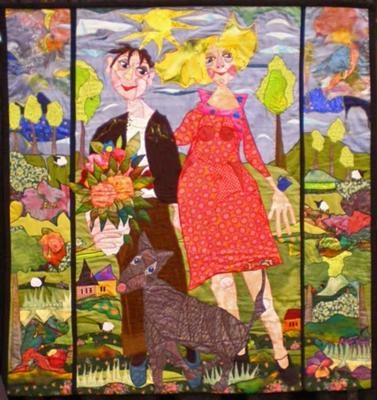show me the road to timbuktua pictorial quilt Pictorial Quilt Patterns Gallery