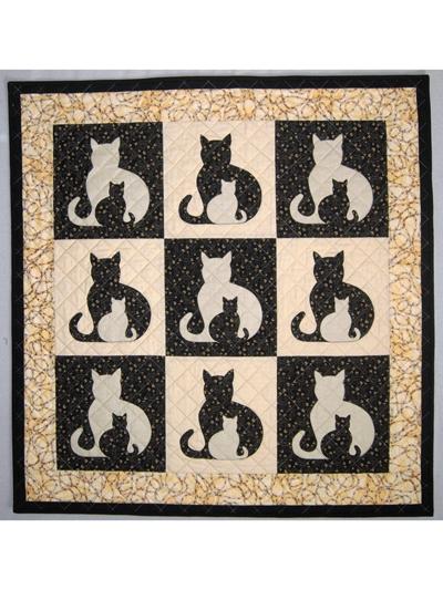 sidekick cat quilt pattern Cozy Cat Quilt Patterns Inspirations