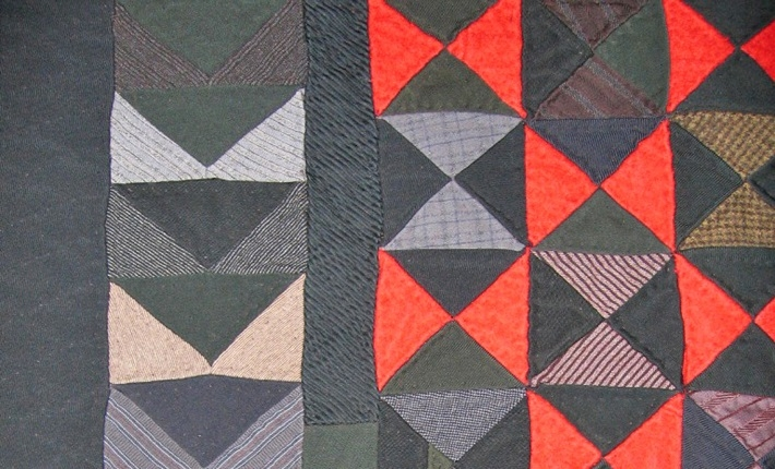 silver threads marks 25 years of antique quilt exhibitions Interesting Bow Tie Quilt Pattern History Gallery