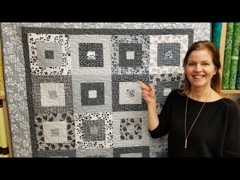 simple modern elegant its hip to be square quilt free Interesting Hip To Be Square Quilt Pattern