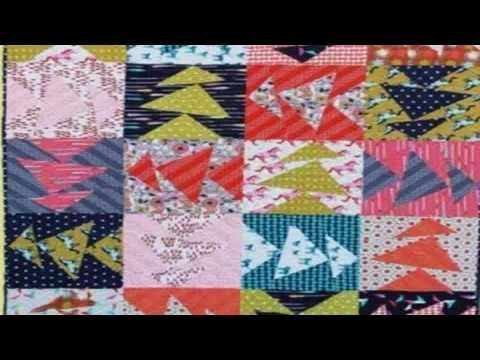 simple quilt frame pattern flying geese variation quilt block Quilt Pattern Flying Geese Variation