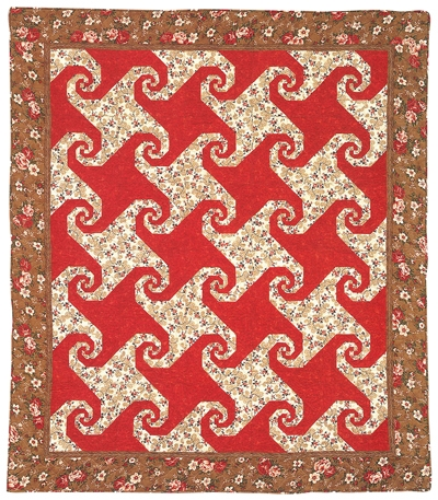 snails trail quilt epattern Cool Snail Trail Quilt Pattern Inspirations
