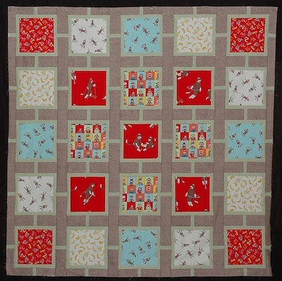 sock monkey quilt monkeyn round fabric line moda the Unique Sock Monkey Quilt Pattern Inspirations
