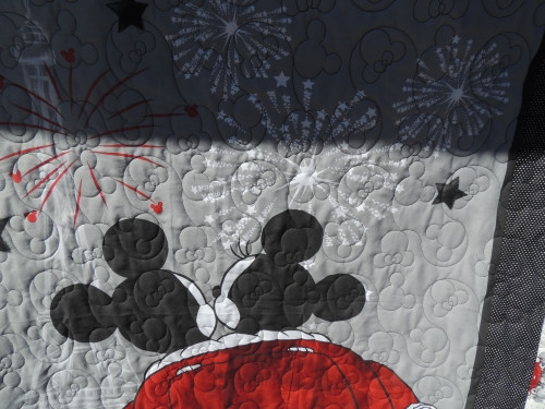 sooo big 52x46 balap mickey and minnie mouse handmade quilt Elegant Minnie Mouse Baby Quilt