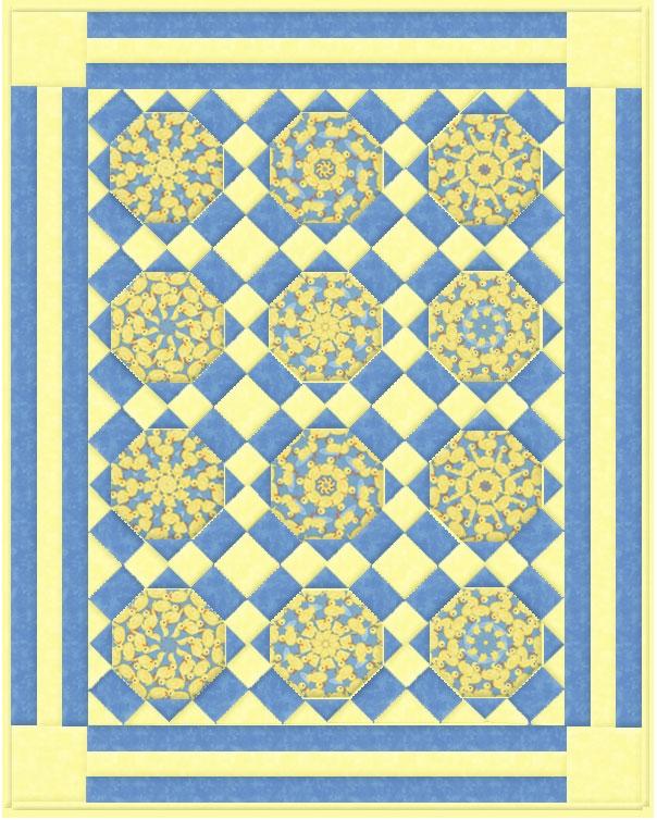 spinning flagstones kaleidoscope quilt pattern Interesting Kaleidoscope Quilt Pattern Inspirations