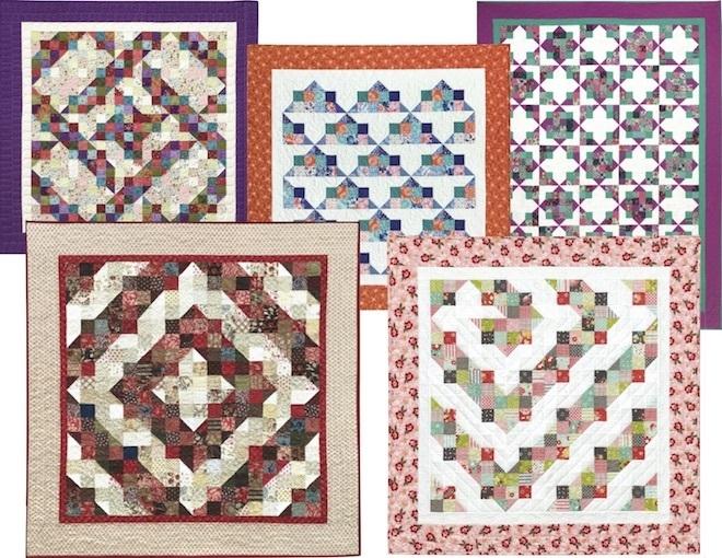 split nine patch quilt eleanor burns signature pattern Unique Nine Patch Quilt Patterns Inspirations