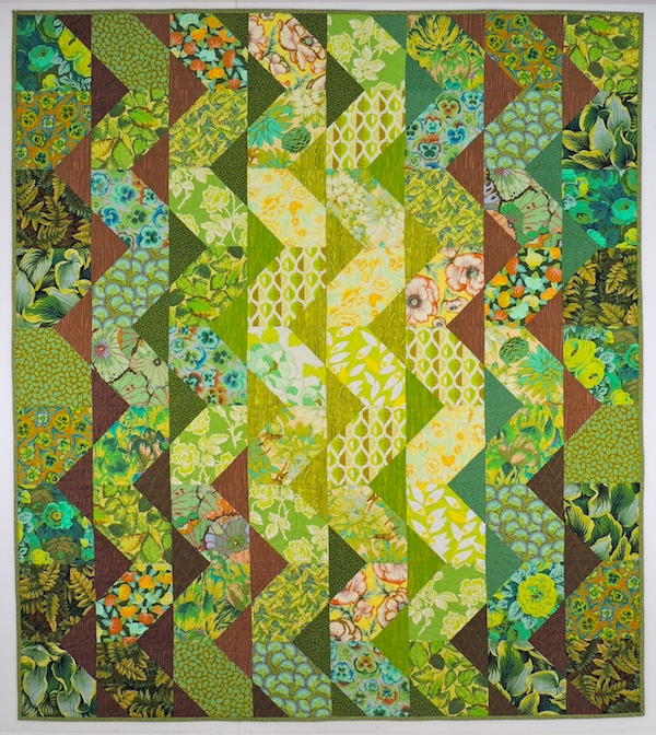 springleaf studios into the woods cascade quilt pattern Cool Tradewinds Quilt Pattern
