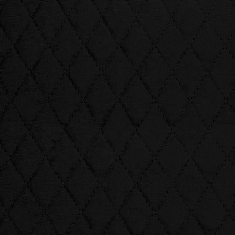 springs creative black country classic single faced 1 diamond quilted fabric Stylish Black Quilted Fabric Inspirations