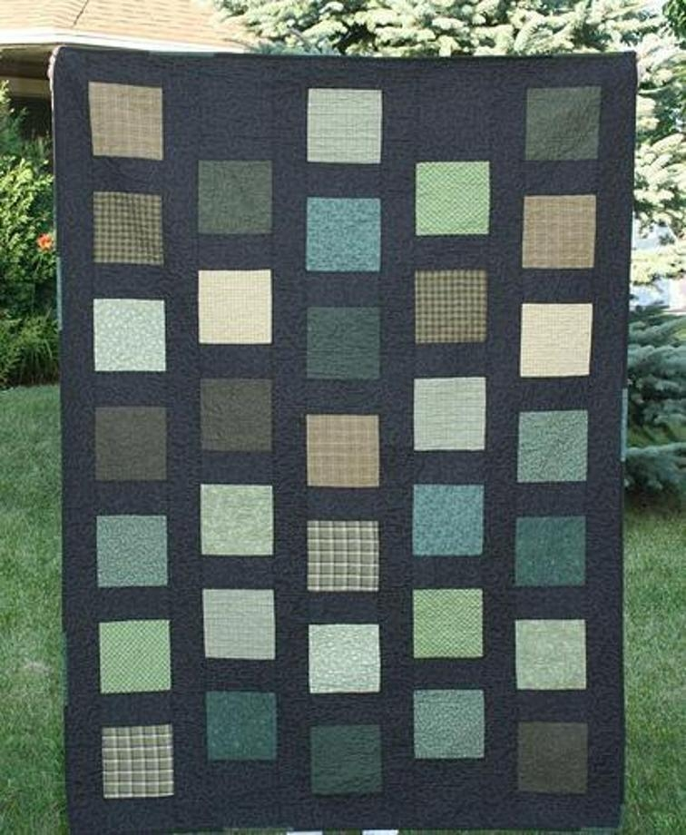 square quilt patterns 7 simple square quilt designs Interesting Square Block Quilt Patterns Gallery
