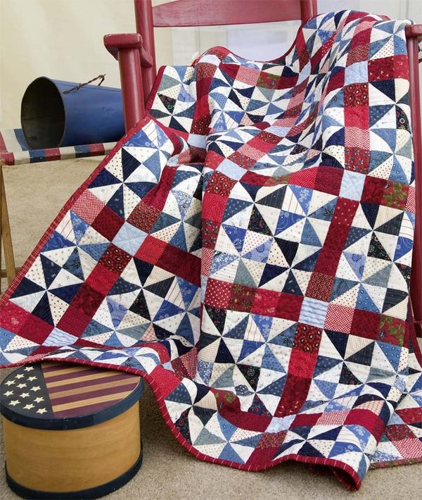 stitch create celebrate 10 patriotic quilt patterns Elegant Patriotic Quilts Patterns