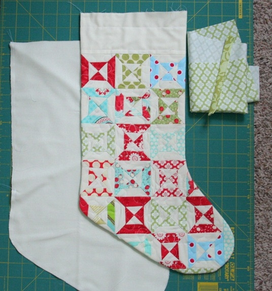 stocking tutorial cluck cluck sew Modern Quilted Stocking Patterns Gallery