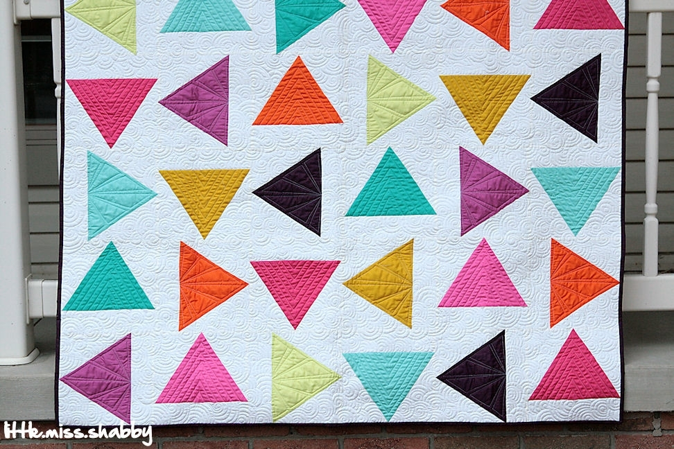 stylish quilts with triangles inspiration quilt design Modern Quilting With Triangles