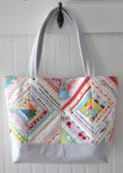 summer sewing 7 quilted tote bag patterns Unique Pattern For Quilted Tote Bag