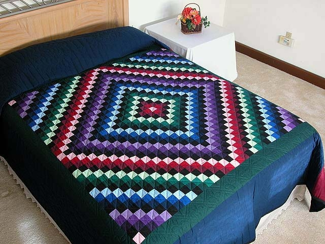 sunshine and shadow quilt gorgeous ably made amish quilts Sunshine And Shadow Quilt Pattern