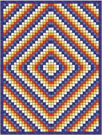 sunshine shadow quilt pattern quilting rag quilt Sunshine And Shadow Quilt Pattern