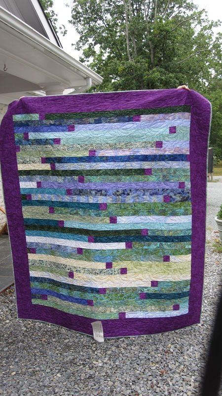 super fast 1600 square quilt love the strip joining a Elegant Jelly Roll 1600 Quilt Patterns Inspirations
