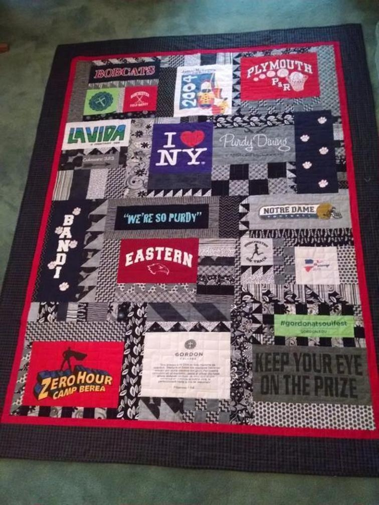 t shirt quilt ideas 6 tips for out of the box t shirt quilts T Shirt Quilt Patterns For Beginners Inspirations