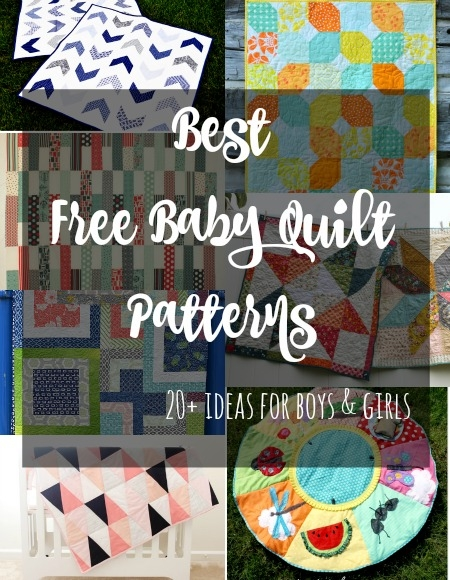the best free ba quilt patterns so sew easy Stylish Patchwork Cot Quilt Patterns Gallery