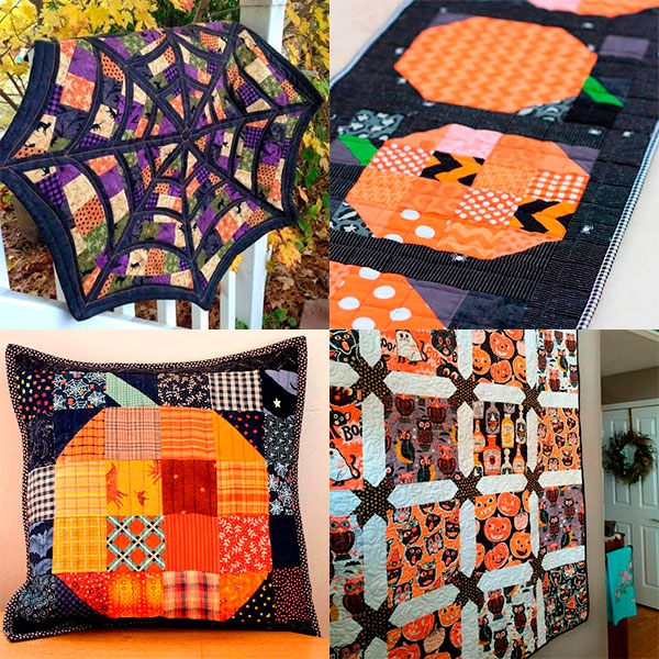 the best halloween quilt patterns todays quilter Stylish Halloween Quilting Patterns Gallery