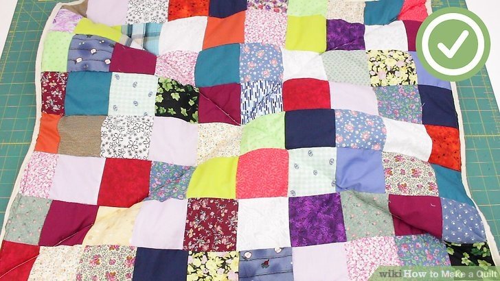 the best way to make a quilt wikihow Stylish Elegant Whole Quilting Fabric Ideas