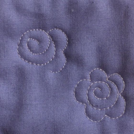 the easiest flower ever quilts the quilting hand Cozy Easy Hand Quilting Patterns