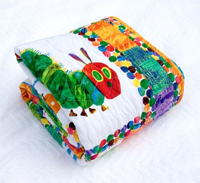 the very hungry caterpillar quilt etsy version carolina Unique Hungry Caterpillar Quilt Pattern