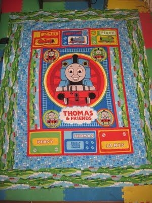 thomas the tank engine quilt pattern quilting quilts Cozy Thomas The Train Quilt Patterns Gallery