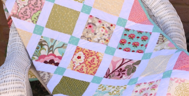 three charm packs for a lucky charm quilt quilting cub Charm Pack Quilt Patterns Gallery
