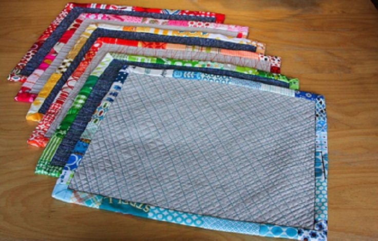 top 10 free placemat patterns and tutorials place mats Unique Placemat Patterns For Quilting