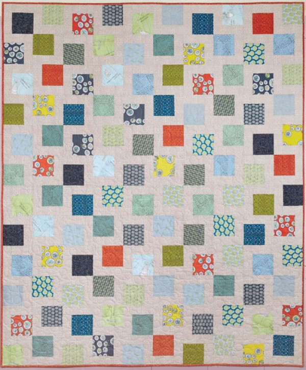 tossed squares quilt pattern download Stylish Quilt Patterns With Squares