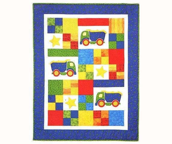 toy trucks quilt pattern childrens quilt pattern fat quarter quilt easy quilt patterns ba quilt patterns for boys boys quilt pattern Cozy Childrens Patchwork Quilt Patterns Inspirations