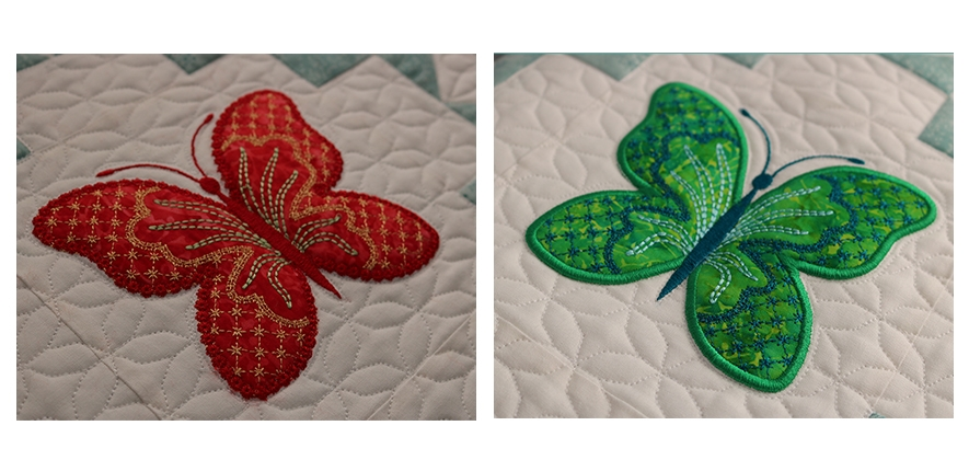 trapunto quilt with embroidery that is easy to create Trapunto Quilting Patterns Inspirations