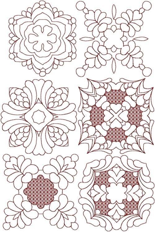 trapunto quilting block set Trapunto Quilting Patterns Inspirations
