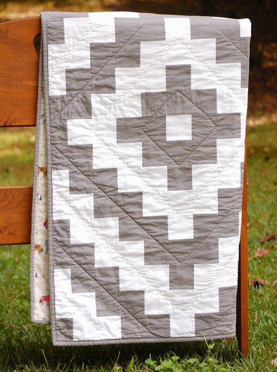 tribal tiles pdf quilt pattern modern aztec theme two Unique Two Fabric Quilt Patterns Inspirations