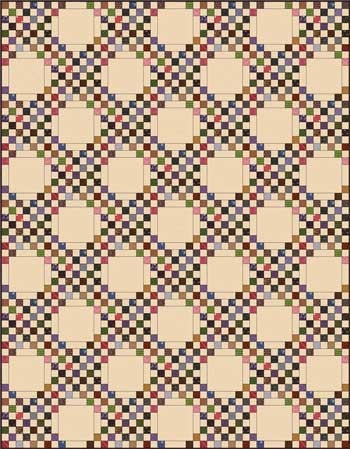 triple irish chain quilt quilt blocks and patterns Modern Triple Irish Chain Quilt Pattern Gallery