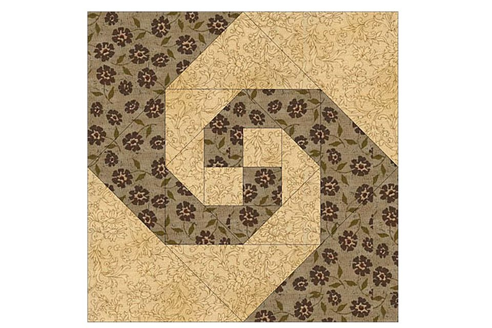 try an easy snails trail quilt block pattern Cool Snail Trail Quilt Pattern Inspirations