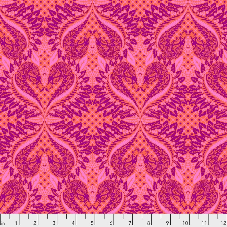tula pink pinkerville gatekeeper cotton candy pink fabric the yard Modern Cotton Candy Quilts & Sewing Gallery