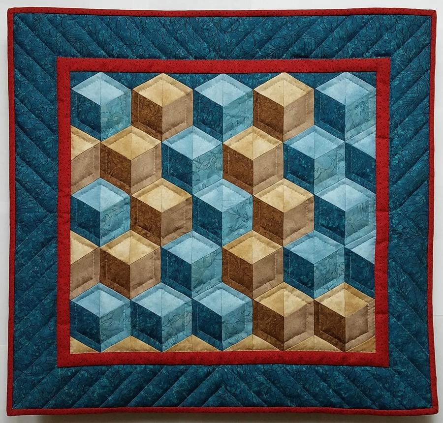 tumbling blocks pattern Unique Tumbling Blocks Quilt Patterns