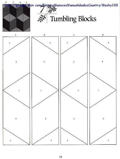 tumbling blocks pp pattern quilt blocks tumbling blocks Unique Tumbling Blocks Quilt Patterns