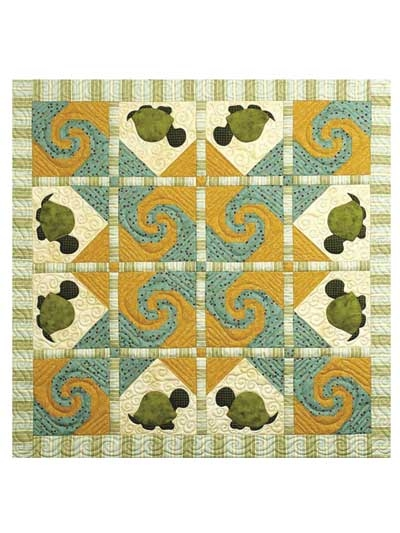turtle trail quilt pattern Stylish Applique Quilt Patterns For Children Inspirations