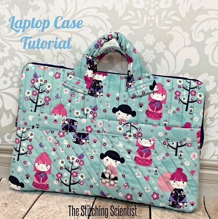 tutorial quilted laptop case sewing Interesting Quilted Laptop Case Pattern