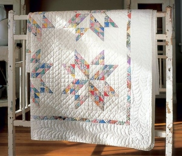 twinkling star free classic quilt pattern use up lots of Modern Mccalls Vintage Quilt Patterns