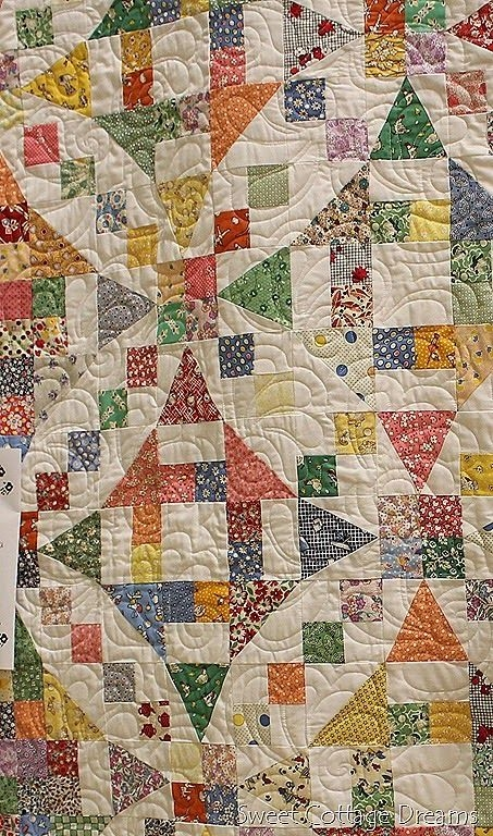 two blocks 54 40 or fight combined with churn dash also Interesting Two Block Quilt Patterns Inspirations