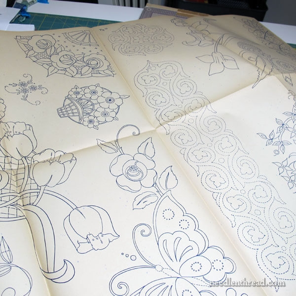 vintage embroidery patterns the wonder package Cool Hand Embroidery Patterns For Quilts Gallery