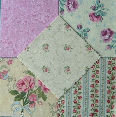 vintage laura ashley fabric patchwork quilt bundleromantic Interesting Stylish Ebay Quilting Fabric Inspiration