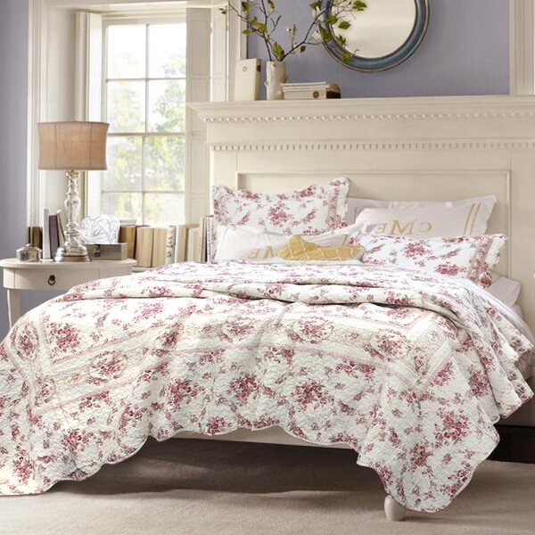 vintage quilt sets youll love in 2019 wayfair Cozy Vintage Quilted Bedspread Inspirations